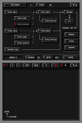 KORG DS-10 Synthesizer, Screenshot #5