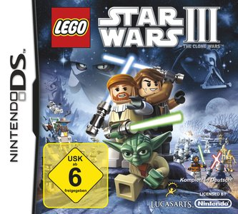 LEGO Star Wars III: The Clone Wars, Covermotiv