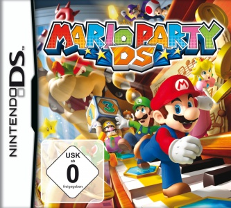 Mario Party DS, Covermotiv/Artwork