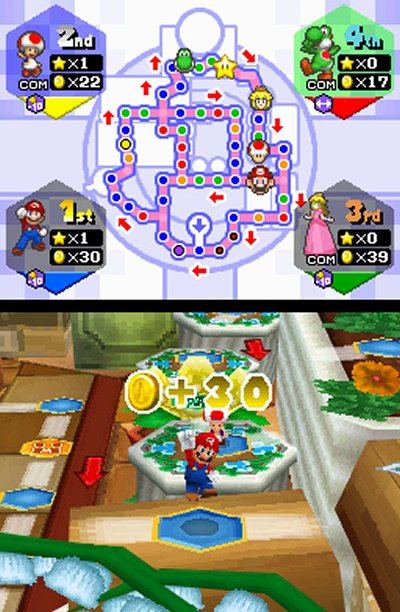 Mario Party DS, Screenshot #1