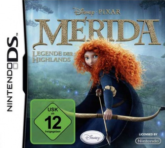 Merida - Legende der Highlands, Covermotiv/Artwork