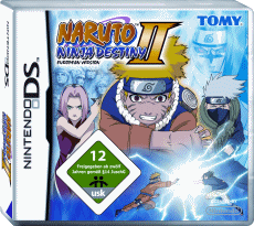 Naruto: Ninja Destiny 2 (European Version), Covermotiv/Artwork