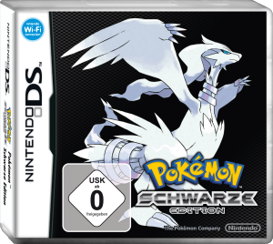Pokémon Schwarze Edition, Covermotiv/Artwork