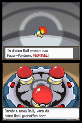 Pokémon Silberne Edition SoulSilver & Pokémon Goldene Edition HeartGold, Screenshot #2