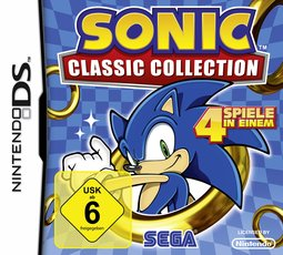 Sonic Classic Collection, Covermotiv/Artwork