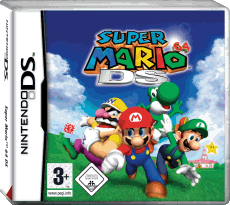 Super Mario 64 DS, Covermotiv