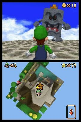 Super Mario 64 DS, Screenshot #1