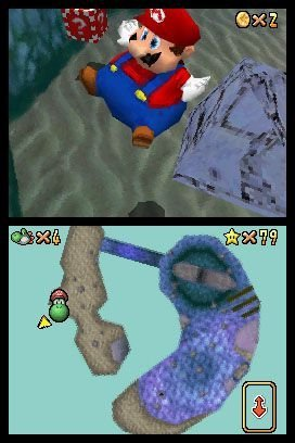 Super Mario 64 DS, Screenshot #2