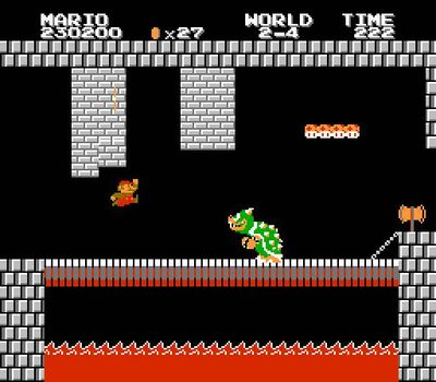 Super Mario Bros. 2: The Lost Levels, Screenshot #1