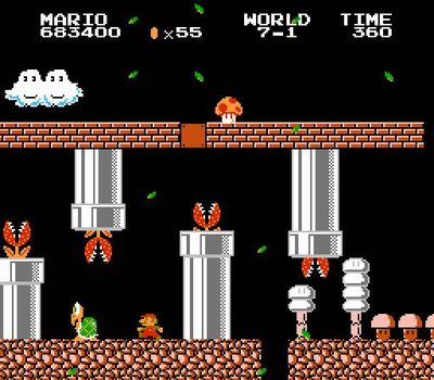 Super Mario Bros. 2: The Lost Levels, Screenshot #2