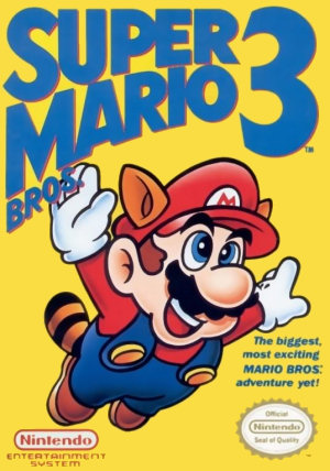 Super Mario Bros. 3, Covermotiv/Artwork