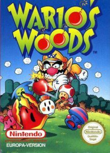 Wario's Woods, Covermotiv