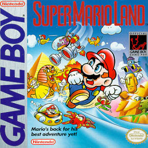 Super Mario Land, Covermotiv/Artwork