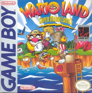 Super Mario Land 3: Wario Land, Covermotiv