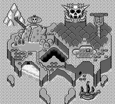Super Mario Land 3: Wario Land, Screenshot #1