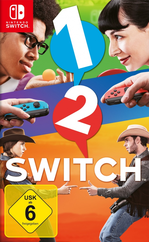 1-2-Switch, Covermotiv