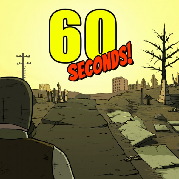 60 Seconds!, Covermotiv/Artwork