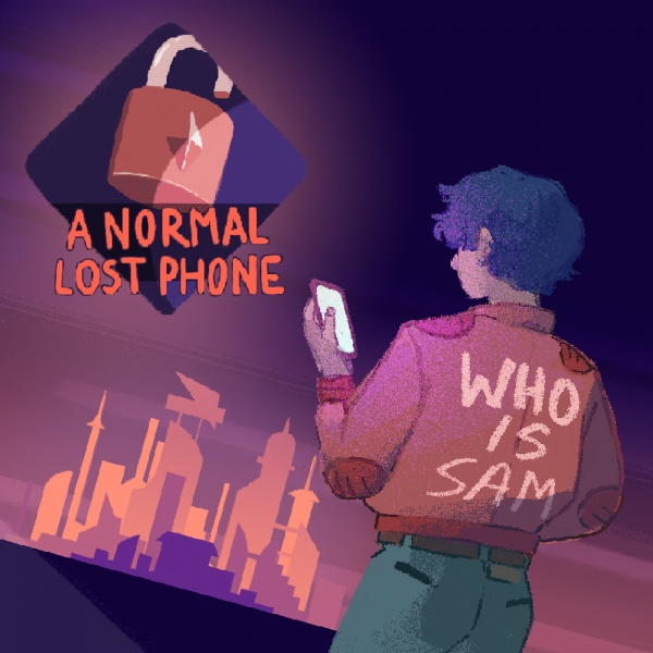 A Normal Lost Phone, Covermotiv/Artwork