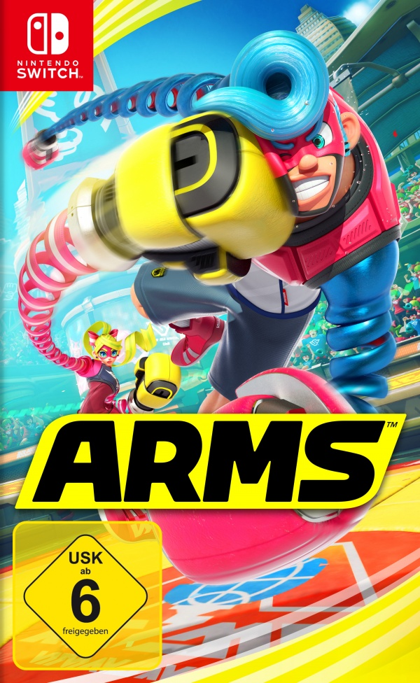ARMS, Covermotiv