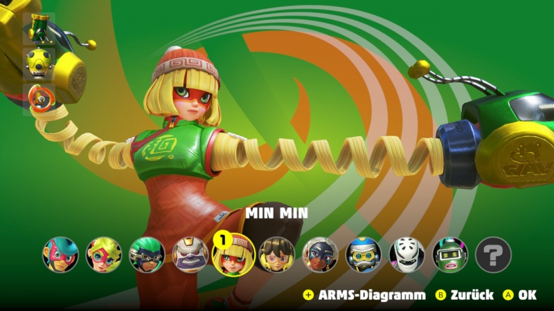 ARMS, Screenshot #1