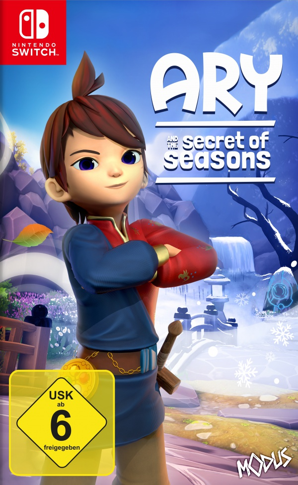 Ary and the Secret of Seasons, Covermotiv/Artwork