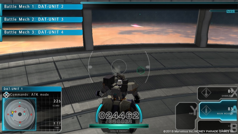 Assault Gunners HD Edition, Screenshot #1
