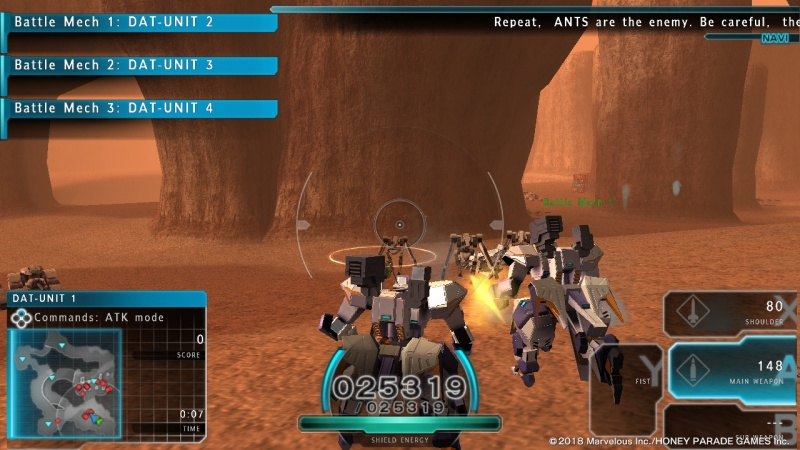 Assault Gunners HD Edition, Screenshot #4