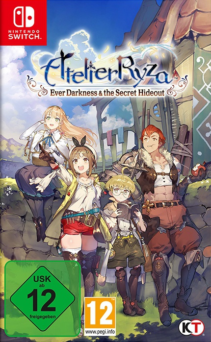 Atelier Ryza: Ever Darkness & the Secret Hideout, Covermotiv/Artwork