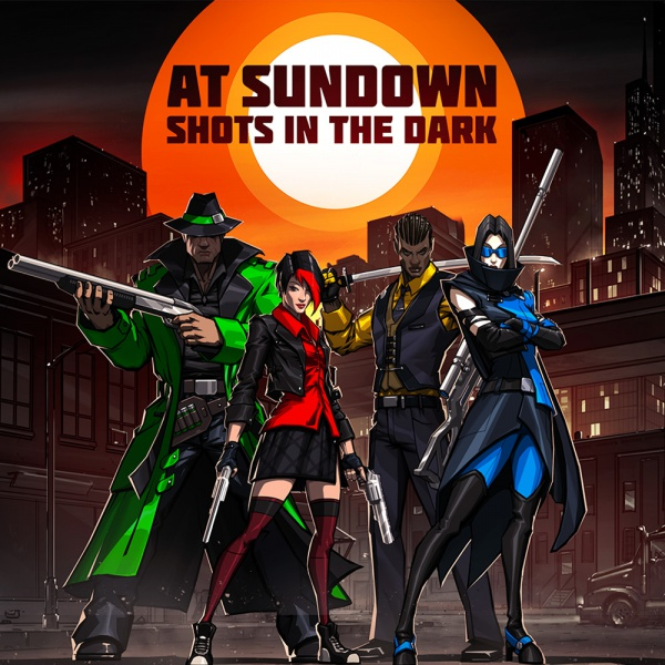 At Sundown: Shots In The Dark, Covermotiv/Artwork