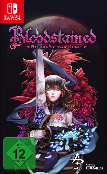Bloodstained: Ritual of the Night, Covermotiv/Artwork