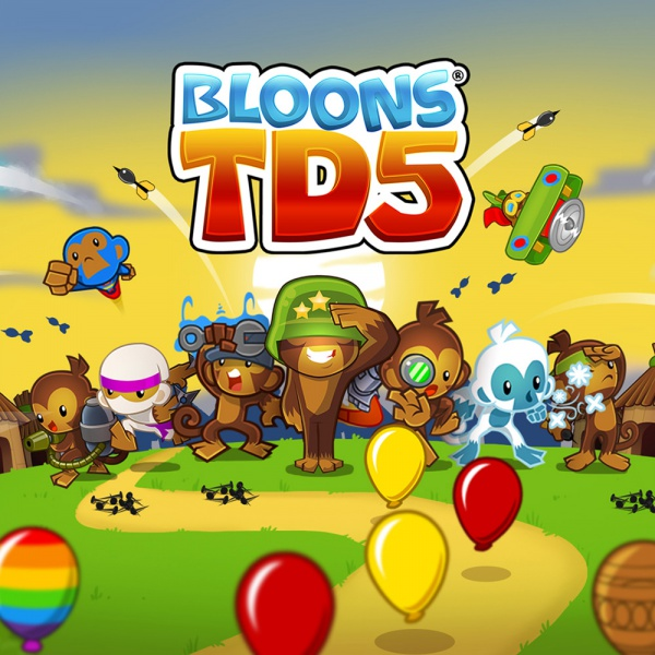 Bloons TD 5, Covermotiv/Artwork