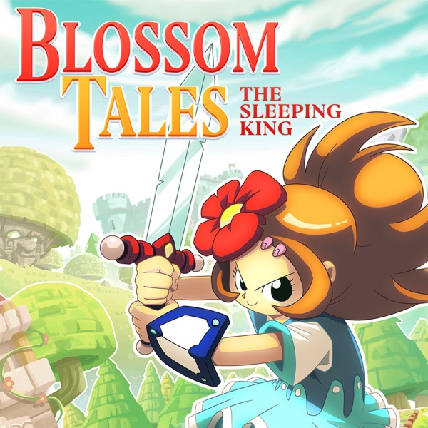 Blossom Tales: The Sleeping King, Covermotiv