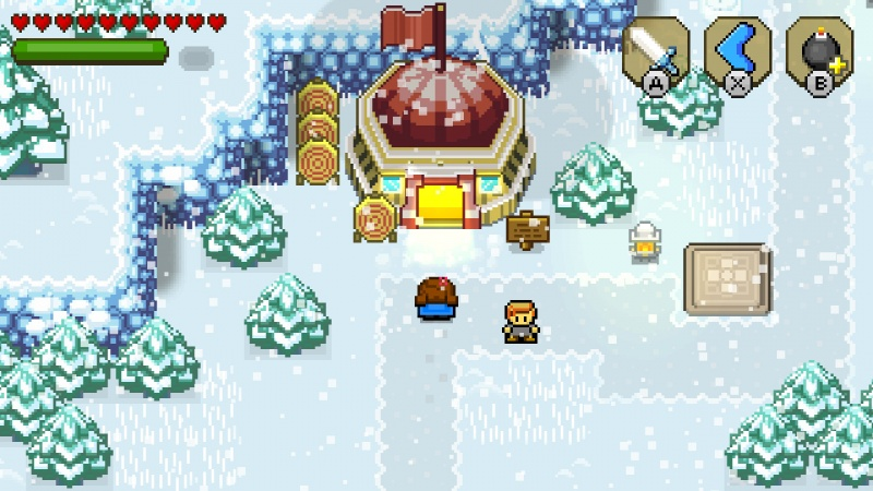 Blossom Tales: The Sleeping King, Screenshot #2