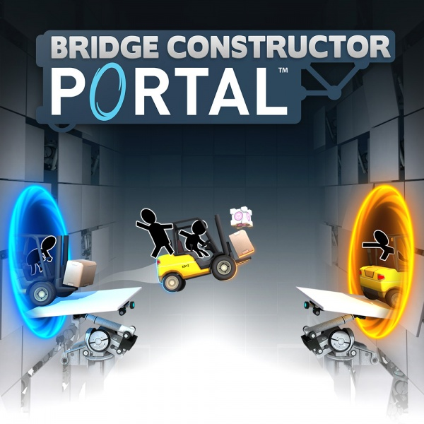 Bridge Constructor Portal, Covermotiv/Artwork