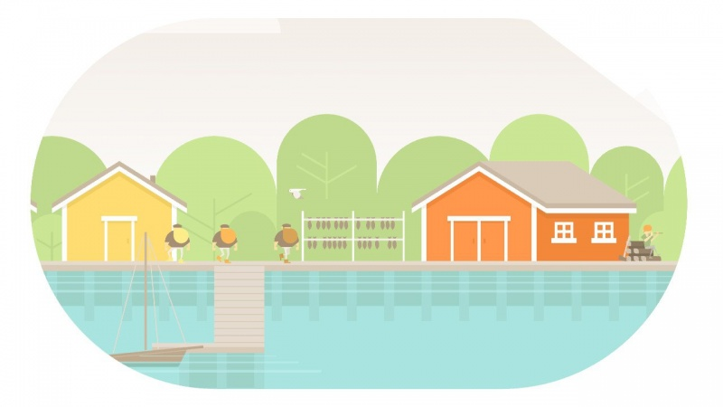 Burly Men at Sea, Screenshot #2