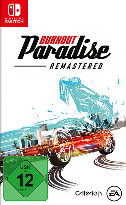 Burnout Paradise Remastered, Covermotiv/Artwork