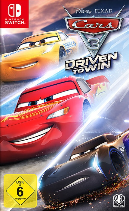 Cars 3: Driven to Win, Covermotiv