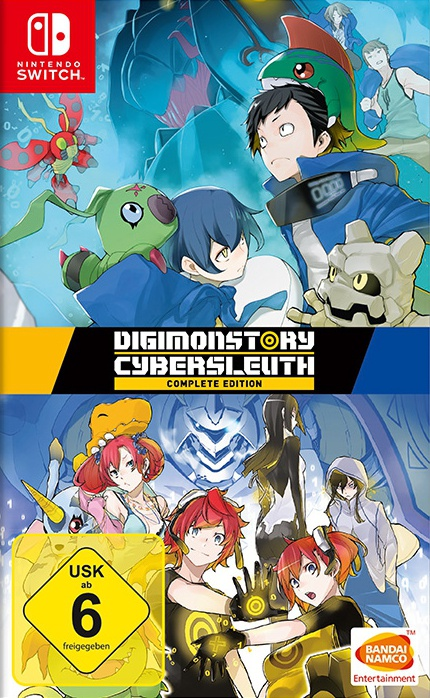 Digimon Story Cyber Sleuth Complete Edition, Covermotiv/Artwork