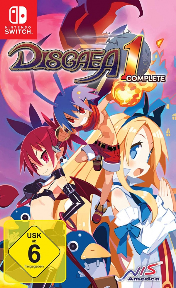 Disgaea 1 Complete, Covermotiv/Artwork