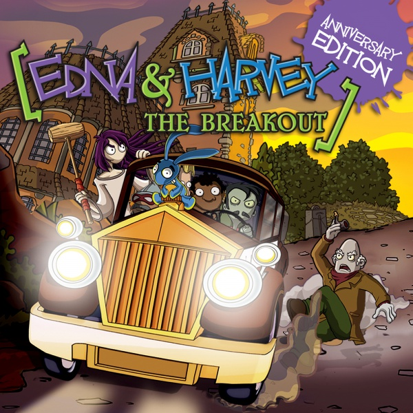 Edna & Harvey: The Breakout - Anniversary Edition, Covermotiv/Artwork
