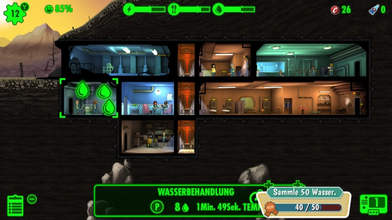 Fallout Shelter, Screenshot #1