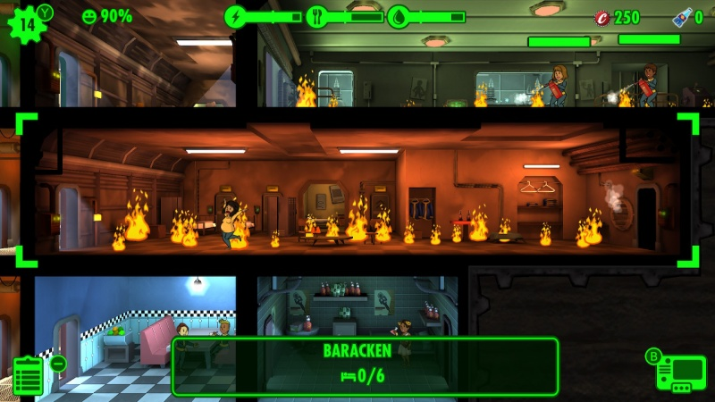 Fallout Shelter, Screenshot #2