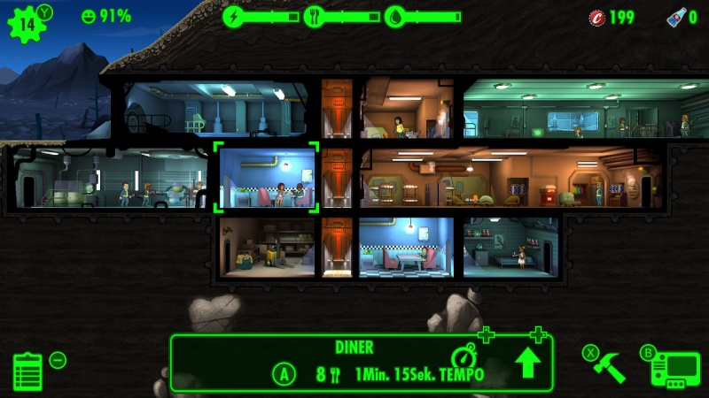 Fallout Shelter, Screenshot #3