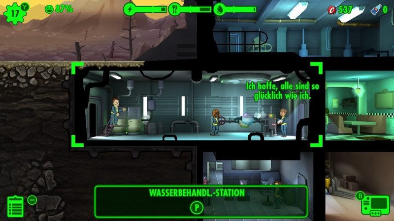 Fallout Shelter, Screenshot #4