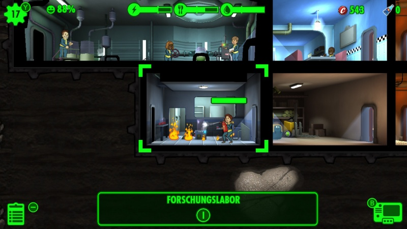 Fallout Shelter, Screenshot #5