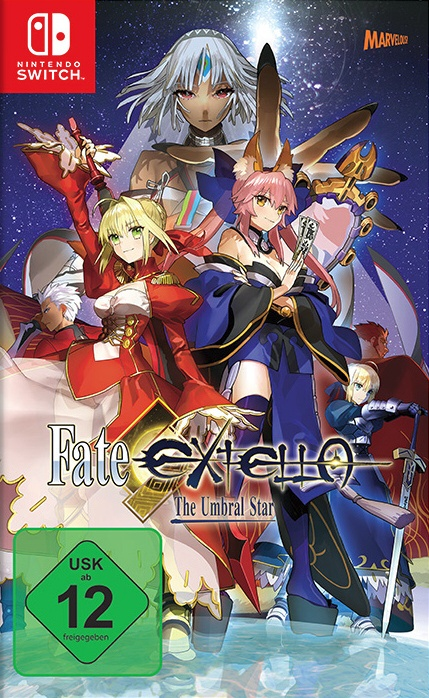 Fate/extella: The Umbral Star, Covermotiv