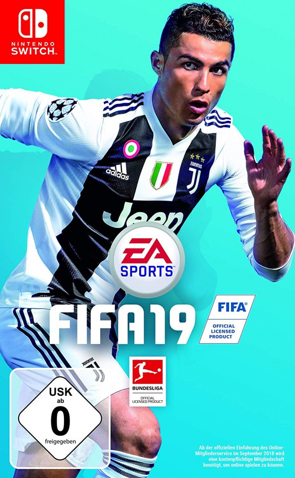 FIFA 19, Covermotiv/Artwork