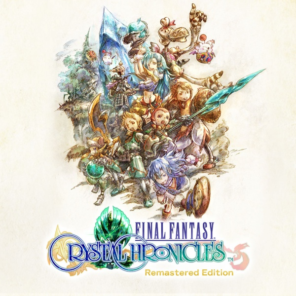 Final Fantasy: Crystal Chronicles Remastered Edition, Covermotiv/Artwork