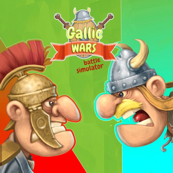 Gallic Wars: Battle Simulator, Covermotiv/Artwork