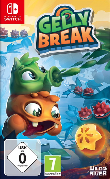 Gelly Break, Covermotiv/Artwork